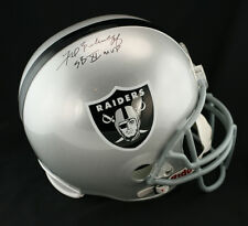 Fred Biletnikoff SIGNED Raiders F/S Helmet + SB XI MVP PSA/DNA AUTOGRAPHED