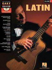 Easy Rhythm Guitar Latin Play Doris Day Dean Martin TAB Music Book 5 & CD