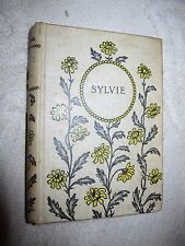 Antique HC book Sylvie, Recollections of Valois by Gerard de Nerval, 42 etchings