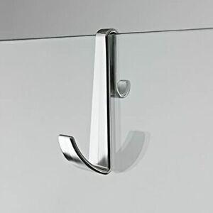 Robe and Towel Hook for Frameless Shower Enclosures - Chrome