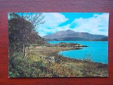 Loch Sunart, Ardnamurchan, Lochaber, Scotland, Vintage RP Real Photo Postcard