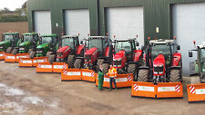 More details for snow ploughs. full hydraulic v-ploughs from agritrend ltd