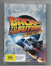 back to the future 3 movies box set    dvd  z4 brand new sealed free postage