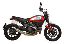 PER Ducati Scrambler 800 Urban Enduro 2016 16 MARMITTA TERMINALE DI SCARICO LEOV