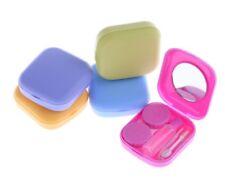 4 in 1 Contact Lens Storage Set Travel Kit Lenses Holder Soaking Case Inserter