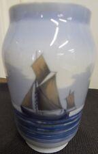 Vase Segelschiff Royal Copenhagen Bildschönes Stück Porzellanvase Vase