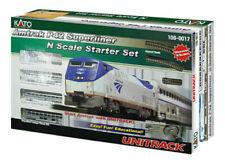 Kato N Scale Amtrak P42 Superliner Phase IVb Starter Set # 106-0017