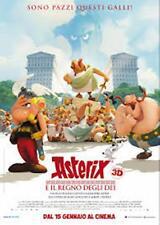 Poster ASTERIX E IL REGNO DEGLI DEI Cinema Manifesto 100x140cm Prima Ediz.Italia
