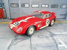 SHELBY Cobra Daytona Ford Coupe #59 Harper Sutcliffe 1965 Le Mans Scu Exoto 1:18