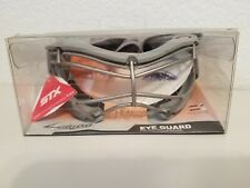 New STX 4 Sight Eye Guard Protection Women's Lacrosse Mask Goggles Gray