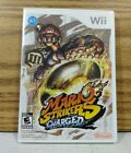 Mario Strikers Charged (Nintendo Wii, 2007) Game & Case no manual VG Tested