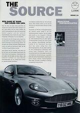 Prospetto Linn the source issue 14 2/03 2003 high end hi-fi per auto e casa