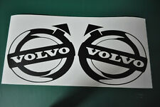 2x STICKERS VOLVO  poids lourds  TRUCK TRACTEUR  camion