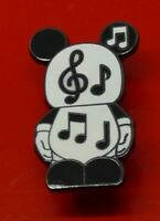 Used Disney Enamel Pin Badge Vinylmation Music Note Design
