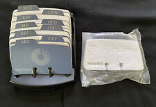 Rolodex Made In Usa With Extra Blank Cards File Business Organizer