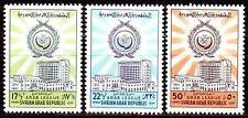 Syrien Syria 1962 ** Mi.783/85 Arabische Liga Arab League