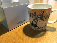 2019 Moomin Valley Park JAPAN Limited ARABIA Moomin Mug, 3.4×3.2in, Pink