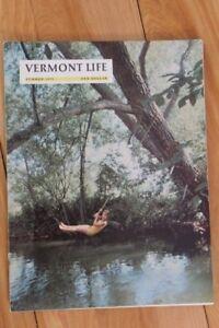 Vermont Life Magazine Summer 1972 Vintage Back Issue Print Edition