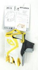 Giro Tessa - Women's White/Yellow Cycling Gloves - Size: L - Nwt