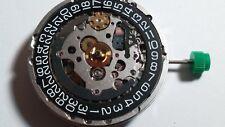 ETA 2894-2 movement, 37 jewels, runs, needs work BLACK dial. date at 3 o'clock