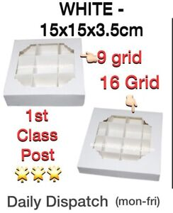 Empty Pick and Mix Sweet Boxes with Inserts⭐️1st  CLASS POST⭐️LOWEST PRICE⭐️⭐️