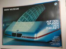 Plakat Auf den Spuren der Zukunft BMW Museum München A1 Original TOP!