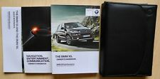 BMW X5 F15 HANDBOOK OWNERS MANUAL NAVI FOR 2013-2018 CARS REF698