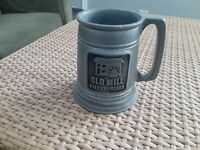 VTG OLD MILL ENTERPRISES INC. PROMOTIONAL ADVERTISING MILLMETAL BEER STEIN