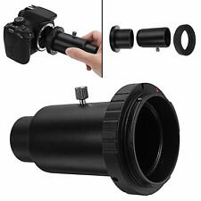 T-Ring x 1+ 1.25 inch Telescope Mount Adapter + Extension Tube for Canon EOS