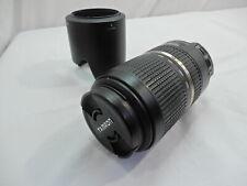 Tamron SP 70-300mm f/4-5.6 Di VC USD Lens Canon w Lens Hood ~!