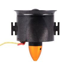 70mm EDF 3000KV Brushless Motor with 6 Blades Ducted Fan Set for Airplane RC380