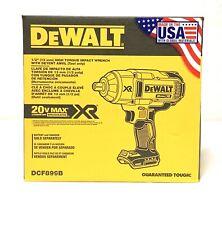 """Dewalt DCF899B 20v MAX* XR Brushless 1/2"""" Impact Wrench, Detent (Bare Tool)"""