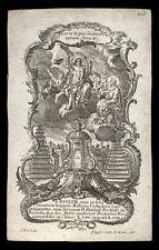 santino incisione1700 S.GIUSEPPE   klauber