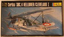 USA Curtiss SBC-4 Helldiver/Cleveland 1, 1/72 Heller kit 285 Airplane Model Kit