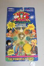SEALED Vtg 1991 Captain Planet Light and Sound Power Ring New Card MOC MISP NISP