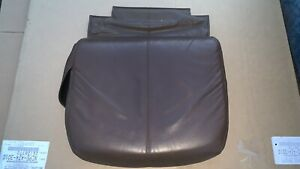 OEM Brown Leather HT-125 Massage Chair Seat Pad Cushion by Human Touch 3600104