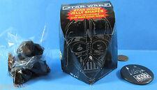 JELLY CANDY box & button '96 vintage BRITISH Star Wars - DARTH VADER