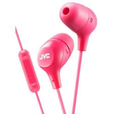 JVC HAFX38M/PINK Marshmallow Custom Fit In Ear Headphones with Remote & Mic