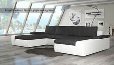 Divano letto matrimoniale Bahamas NUOVO L 363 cm - 188 kg - 12 COLORI