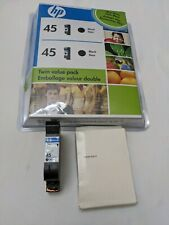 Genuine HP 45 Black Ink Cartridge, 51645A, Expired 2010 New