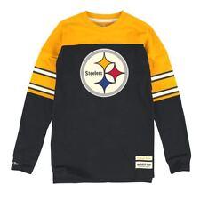 NFL Pittsburgh Steelers Mitchell & Ness Men's (Medium) Pump Fake Crew Shirt