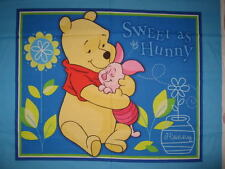 SWEET come pannello di Miele-WINNIE THE POOH-COT QUILT Craft Panel-fabic COTONE