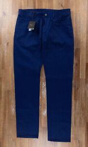 $790 BERLUTI Paris blue narrow fit jeans authentic - Size 36 US / 52 EU - NWT
