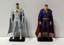 "ALL-STAR SUPERMAN DVD Exclusive Limited Ed ELITE & PROMO 3.5"" Action Figures"
