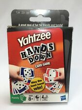 New Yahtzee Hands Down Game Family Game Night Card