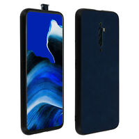 Oppo Reno 2Z Protection Case, Resistan, Faux Leather, Vintage, Blue