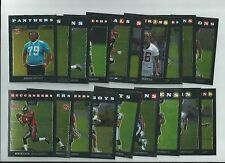 2008 TOPPS CHROME FOOTBALL ROOKIE CARDS - GROUP of 20 CARDS - JOHNSON, STEWART
