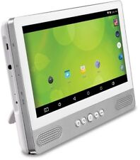Portable Android Tablet Zeki 8GB DVD Player Built-in Wi-Fi Integrated Speakers