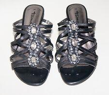 Tamaris ☺ Schuhe ☺ Pumps ☺ Sabbot ☺  Gr. 36 *NEU* Leder ☺  schwarz