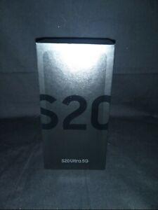 Samsung Galaxy S20 Ultra 5G SM-G988U - 128GB - Cosmic Black (Unlocked)... SEALED